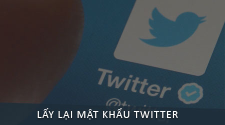 lay lai mat khau twitter tren dien thoai