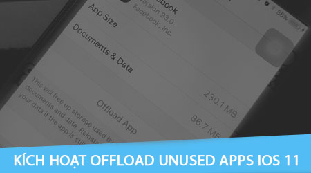 offload apps tren ios 11 la gi kich hoat offload unused apps tren iphone ipad