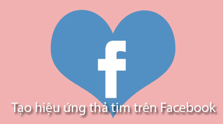 cach tha tim tren facebook tao hieu ung tha tim