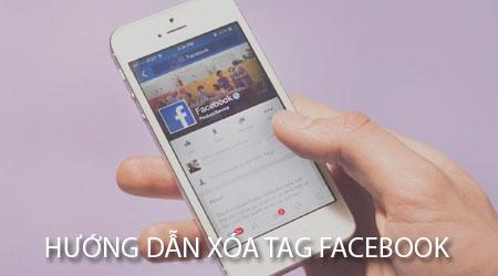 huong dan xoa tag facebook tren iphone xoa gan the