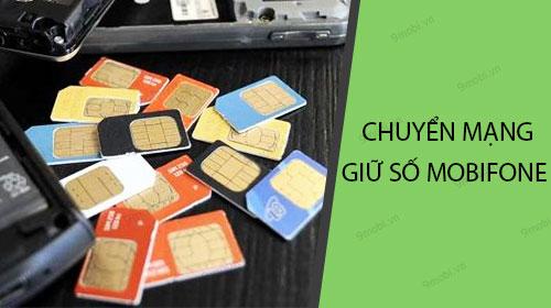 cach dang ky chuyen mang giu so online cua mobifone