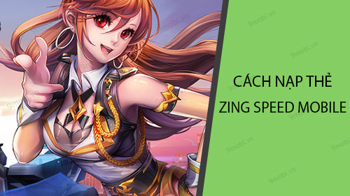 cach nap the kim cuong cho game zing speed mobile