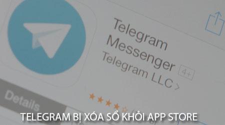 telegram da bi xoa so khoi app store