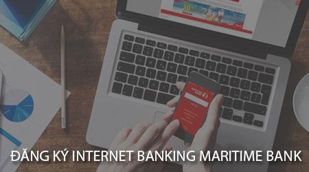 cach dang ky internet banking maritime bank tren dien thoai