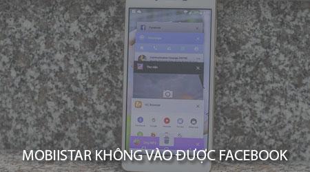 dien thoai mobiistar khong vao duoc facebook messenger