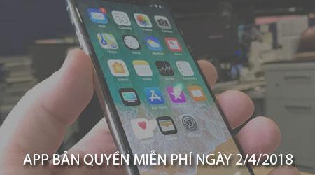 app ban quyen mien phi ngay 02 04 2018