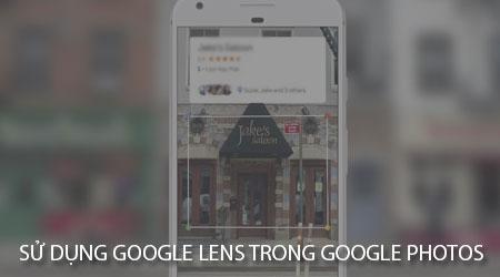 cach su dung google lens trong google photos