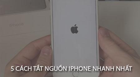 5 cach tat nguon iphone khong phai ai cung biet