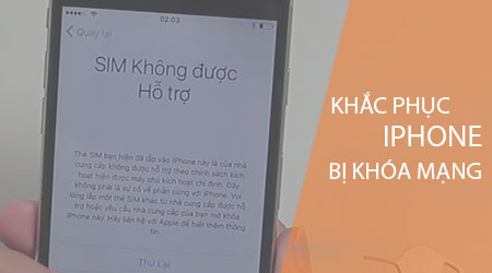 iphone bi khoa mang phai lam sao de su dung duoc