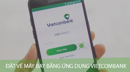 dat ve may bay bang ung dung vietcombank