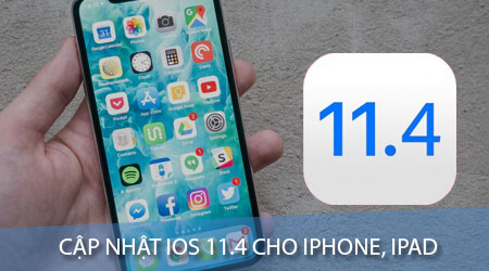 cach cap nhat ios 11 4 cho iphone ipad bang itunes va ota