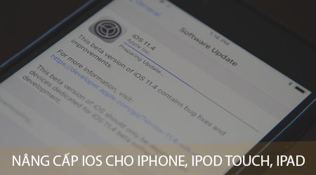 huong dan nang cap ios cho iphone ipod touch va ipad