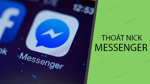 cach thoat nick facebook messenger tren dien thoai iphone android
