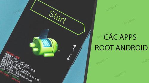 cac ung dung root android khong can may tinh