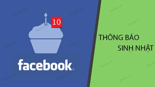 cach bat tat thong bao sinh nhat facebook tren iphone