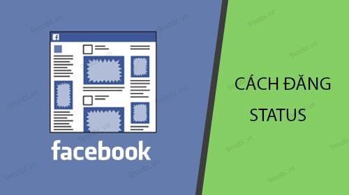 cach dang bai facebook tren dien thoai