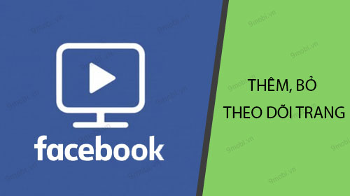 cach them bo theo doi trang video tren facebook watch