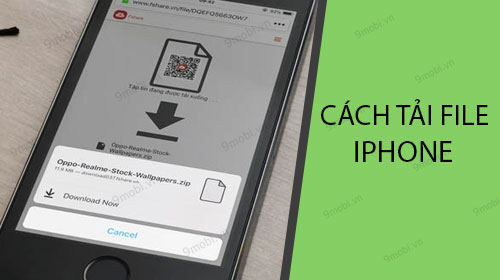 cach tai file tren iphone bang trinh duyet firefox