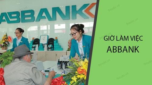 Giờ làm việc ABBank