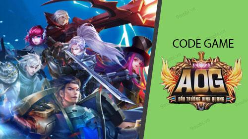 Code game Đấu Trường Vinh Quang, AOG