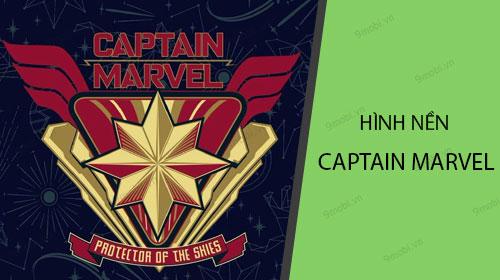Tải hình nền Captain Marvel cho điện thoại iPhone, Android