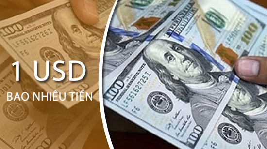 1USD bằng bao nhiêu tiền Việt Nam