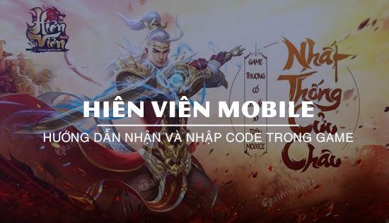 code hien vien mobile