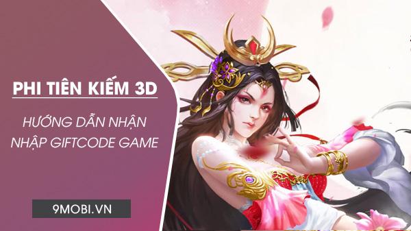 code game phi tien kiem 3d