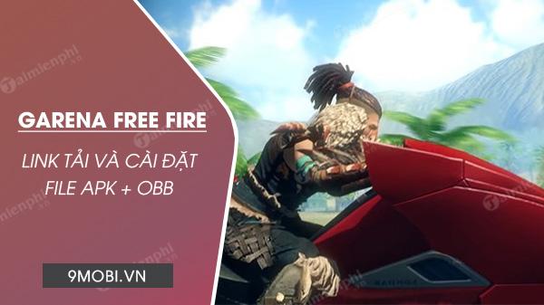 link tai free fire apk obb zip file