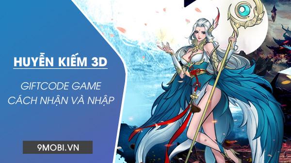Cách nhận GiftCode Huyễn Kiếm 3D Code-game-huyen-kiem-3d