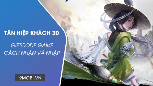 code game tan hiep khach 3d