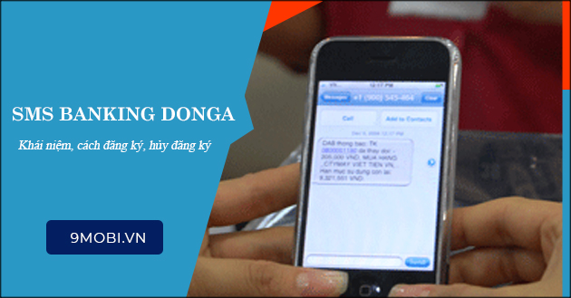 sms banking donga la gi cach dang ky huy