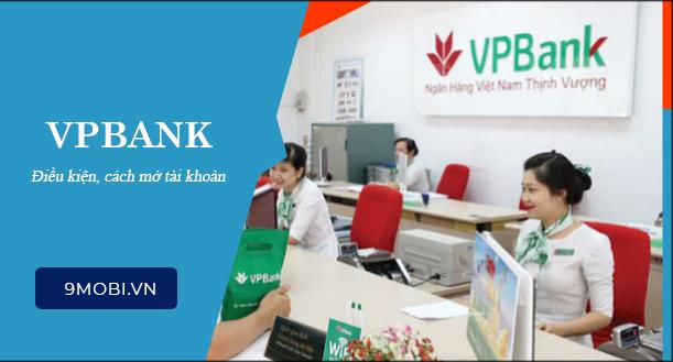 Mở tài khoản VPBank đơn giản, nhanh chóng