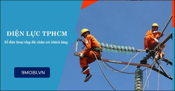 Số điện thoại điện lực TP Hồ Chí Minh, tổng đài điện lực TP Hồ Chí Min
