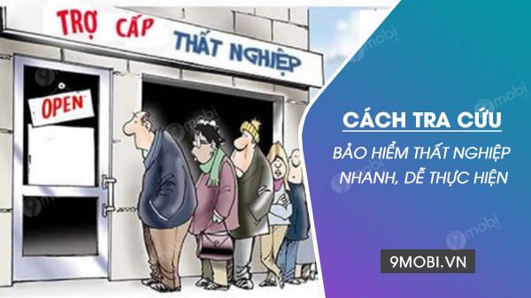 cach tra cuu bao hiem that nghiep