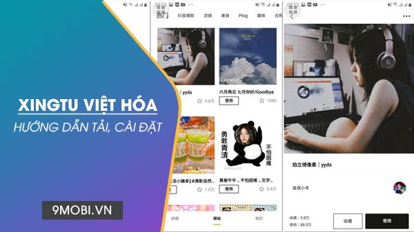 Cach cai dat app Xingtu Viet Hoa cho Android