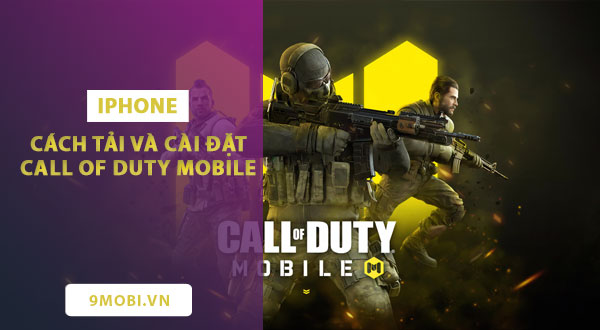 cach tai va cai dat call of duty mobile tren iphone ipad