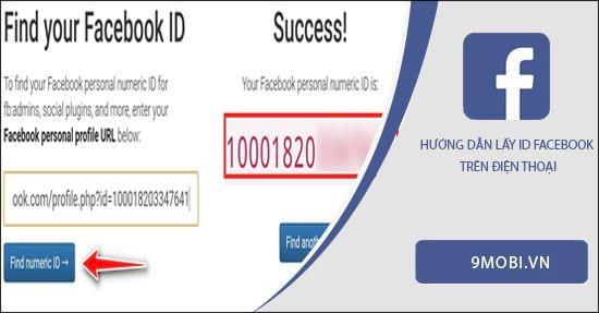 cach lay id facebook tren dien thoai