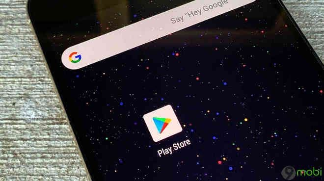 google bo sung che do nen toi cho google play store tren android 10