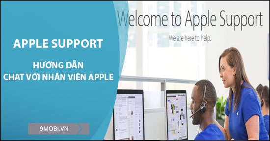 cach chat voi nhan vien apple support
