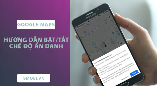 huong dan bat tat che do an danh tren google maps