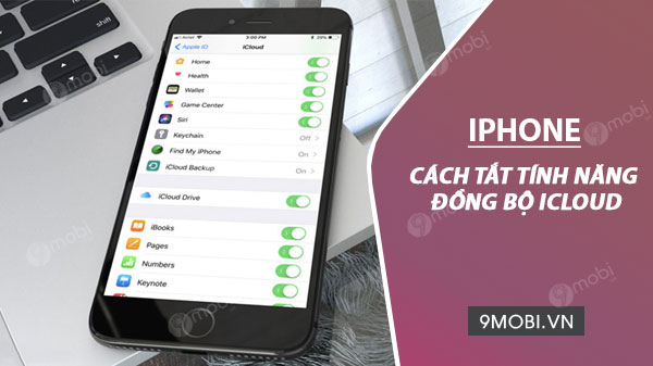 tinh nang dong bo tai khoan icloud iphone