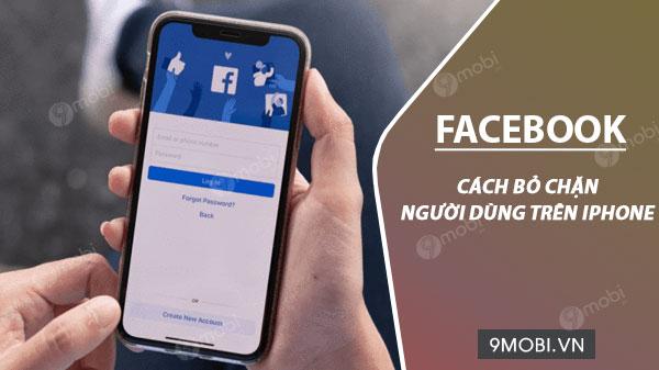 cach bo chan facebook tren dien thoai iphone