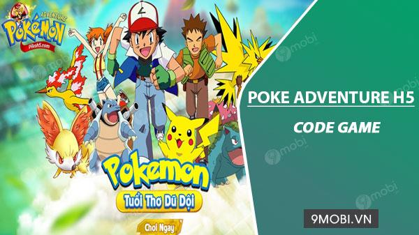 code game poke adventure h5