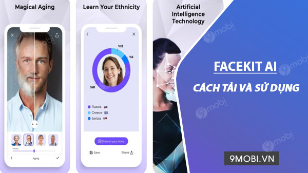 cach su dung ung dung facekit ai
