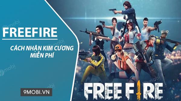 Cách nhận kim cương miễn phí game Garena Free Fire
