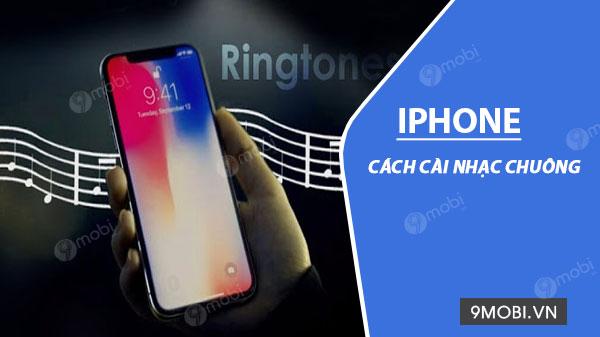 cach cai nhac chuong cho iphone