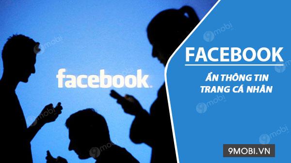 cach an thong tin tai khoan facebook cua ban
