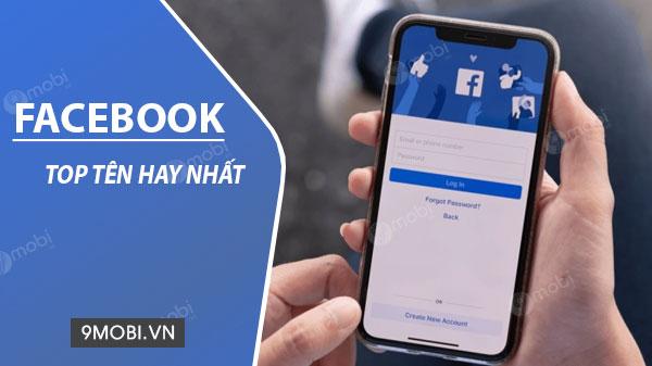 ten facebook hay nhat