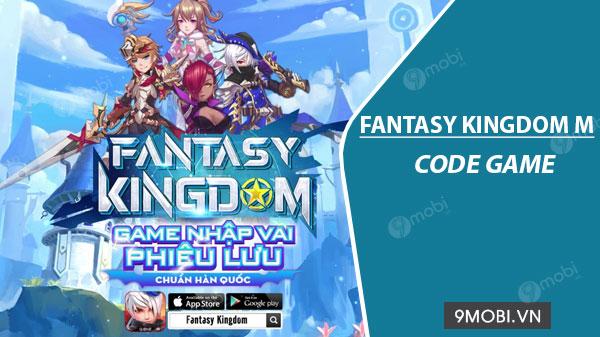 code game fantasy kingdom m